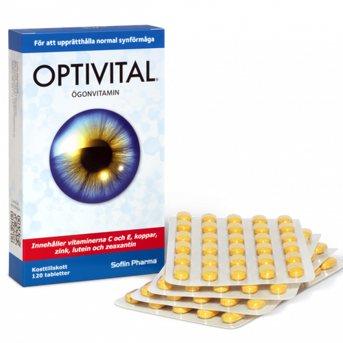 Optivital Ögonvitamin 6 pack