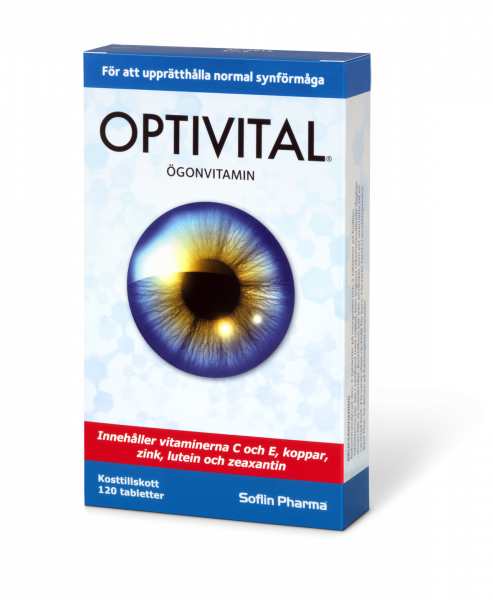 Optivital Ögonvitamin 3 pack