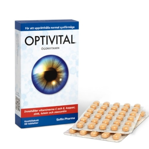 Optivital Ögonvitamin 1 pack