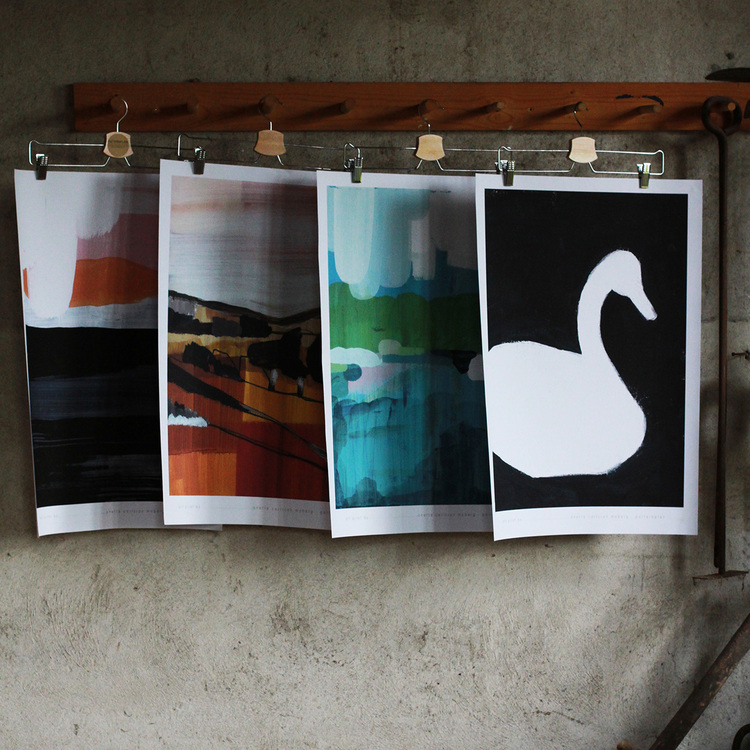 """Poster """"The Swan"""""""