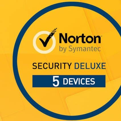 Norton Security Deluxe - 5 enheter / 1 år