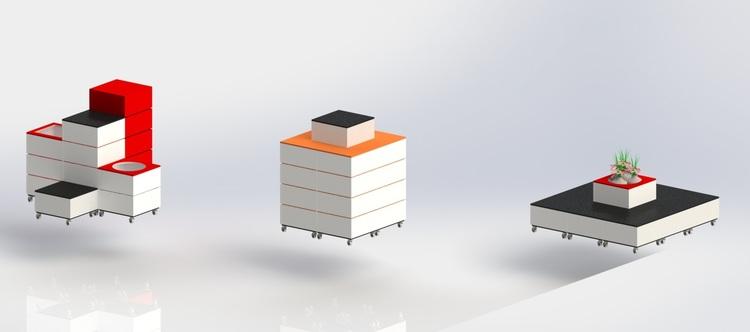 L60 - Skyltpodie SUCCE - paket - Vit - Orange