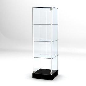 Glasvitrin BAS 50*50*172 cm Glastopp.
