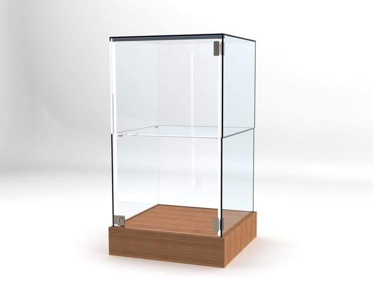 Glasvitrin BAS 50*50*92 cm Glastopp.