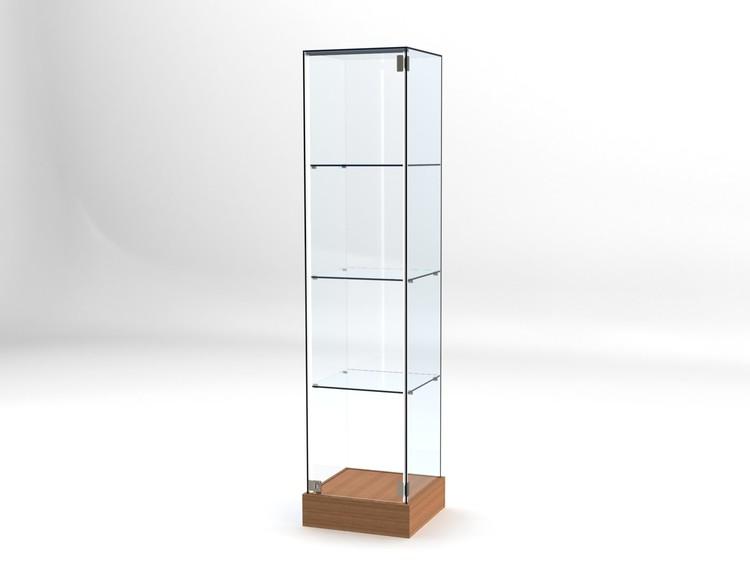Glasvitrin BAS 40*40*172 cm Glastopp.