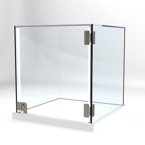 Glasvitrin Billy 40*40*42 cm Glastopp.