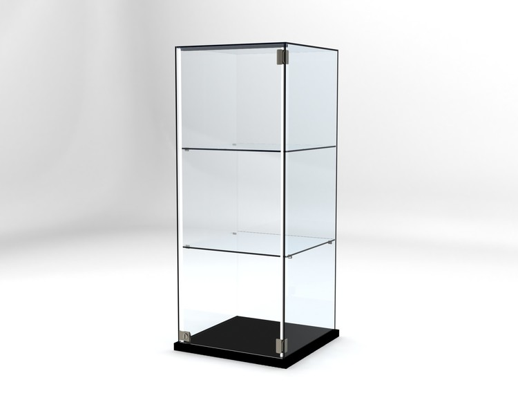 Glasvitrin Billy 50*50*122 cm Glastopp.