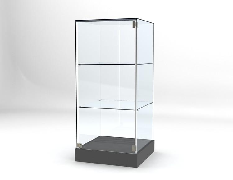 Glasvitrin BAS 60*60*132 cm Glastopp.