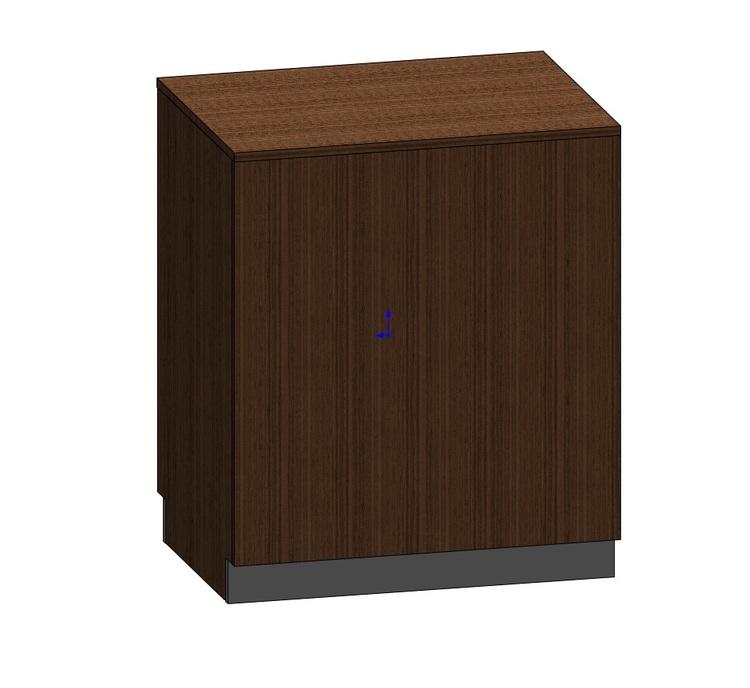 Kassadisk Billy 60*80*95 cm 2 lådor 1 hylla