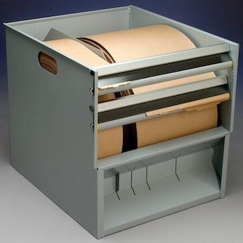 Wellpappskassett - wellpapp på rulle