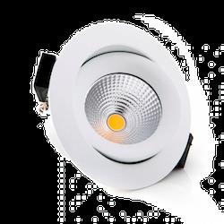 ONE 360 RIKTBAR LEDSPOT 600LM Ø:90MM