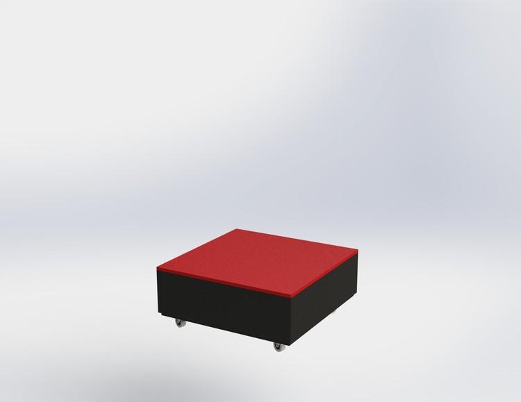 Skyltpodie SUCCE - stapelbart - Svart - Röd