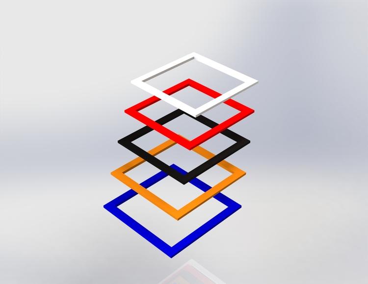 Skyltpodie SUCCE - Topplatta kvadratiskt hål