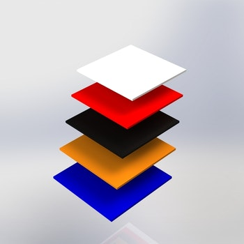 Skyltpodie SUCCE - Topplatta
