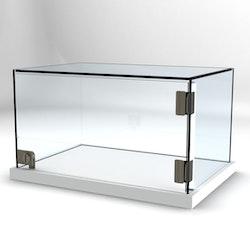 Glasvitrin Billy 53*36*30 cm Glastopp, special mått