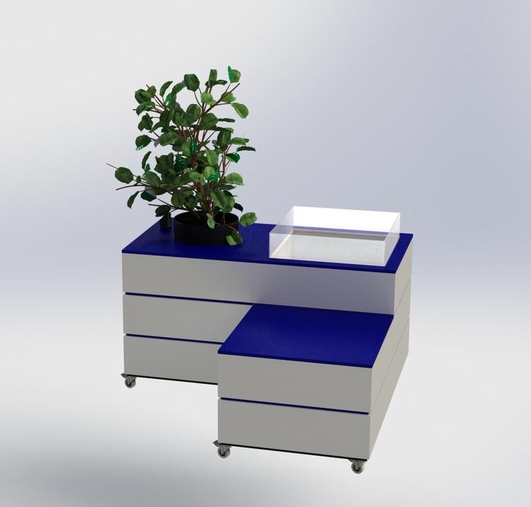 Vit-Blå