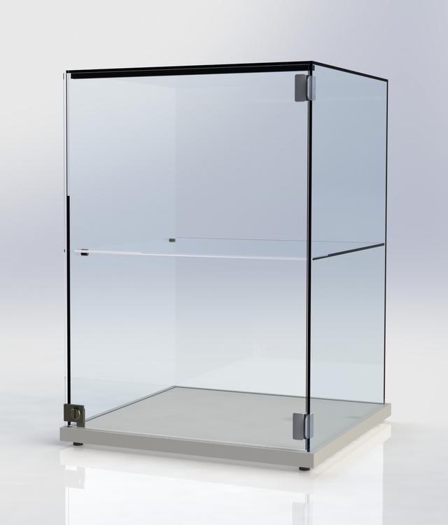 Glasmonter SUCCE 60 - vit - Glastopp