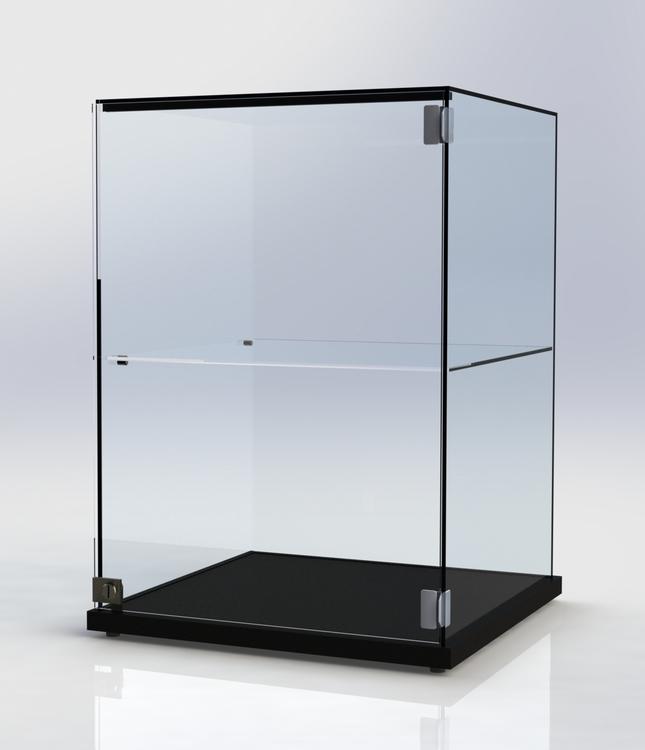 Glasmonter SUCCE 60 - Svart - Glastopp