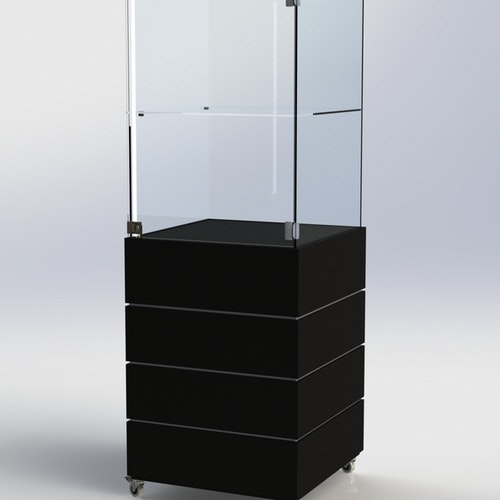 Glasmonter SUCCE 60 - Komplett - svart-svart-vit - 3 cm top