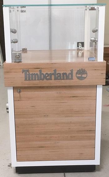 Glasvitrin Timberland