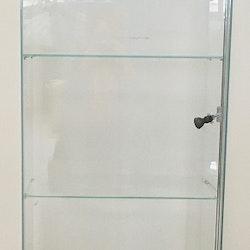 Glasvitrin 40x60x120 cm
