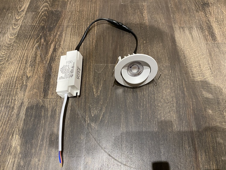 MSO-SPOT LED Riktbar Ø:80mm 5w