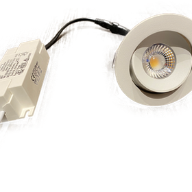 MSO-SPOT LED Riktbar Ø:80mm 5w