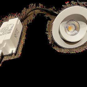 SMO-SPOT LED Riktbar Ø:80mm 5w