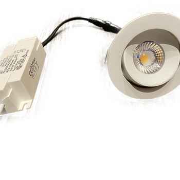 SMO-SPOT LED Riktbar Ø:80mm 5w