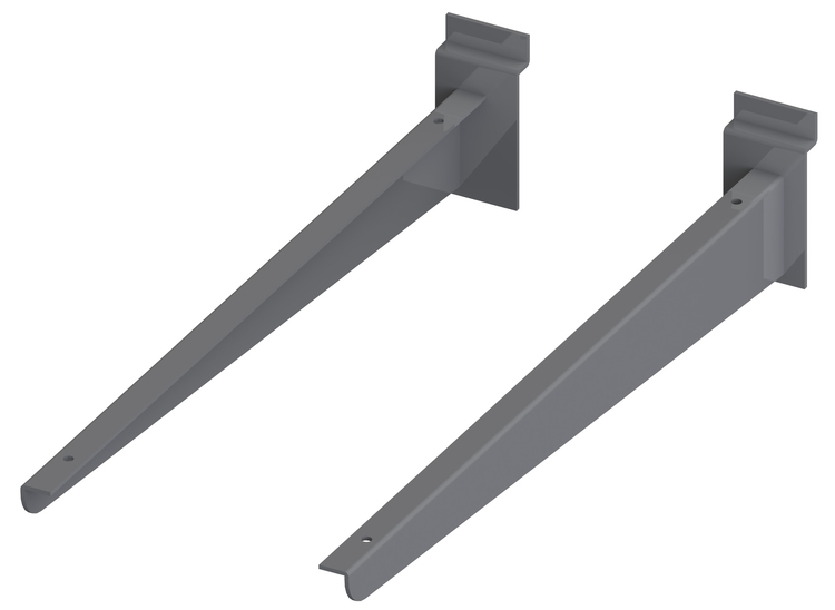 Konsoler för hyllplan trä eller glas 20-35 cm