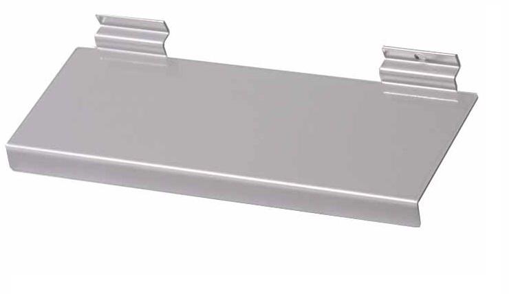 Skohylla metal för spårpanel