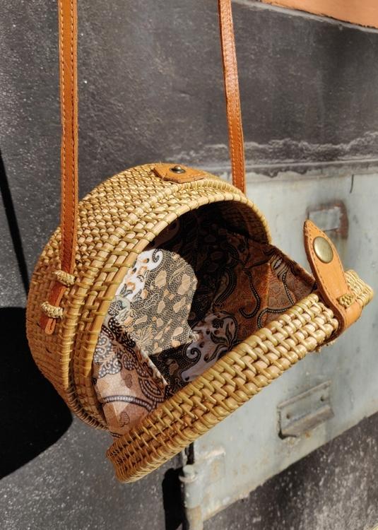 Rund Väska Rotting #3
