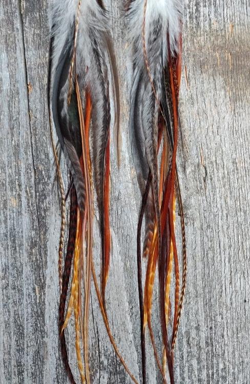 XXLong Feather Earrings #2005