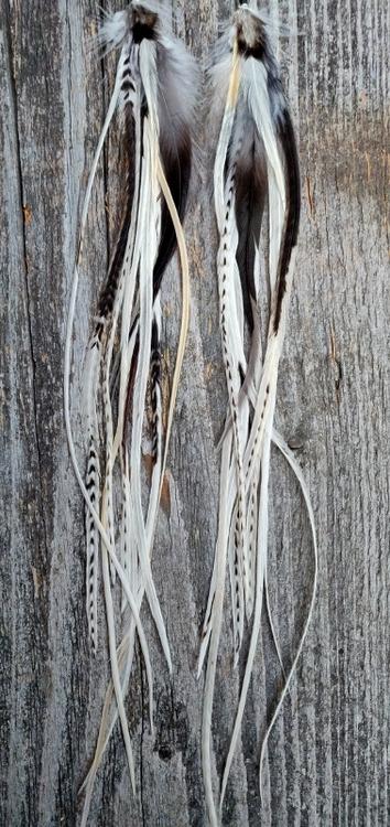 XXLong Feather Earrings Pair #2021