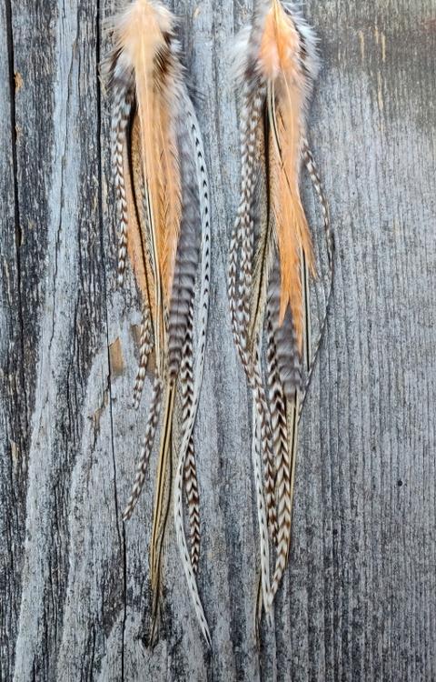 Long Feather Earrings #2006