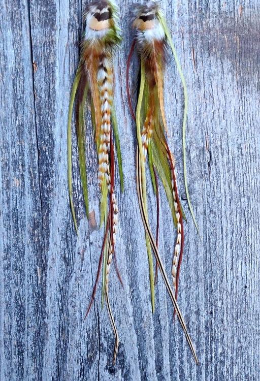 Long Feather Earrings #2017