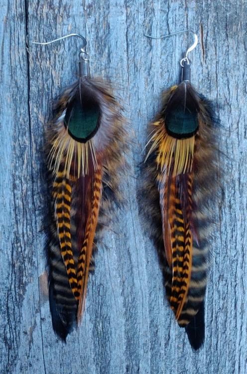 Fjäderörhängen Par #2001