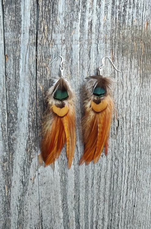 Fjäderörhängen Par #2012