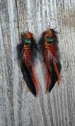 Feather earrings #2009