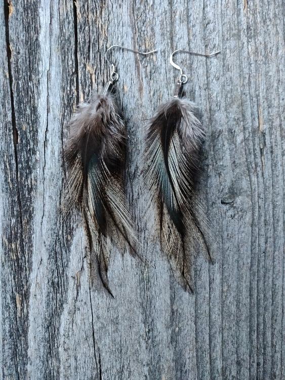 Fjäderörhängen Par #2024