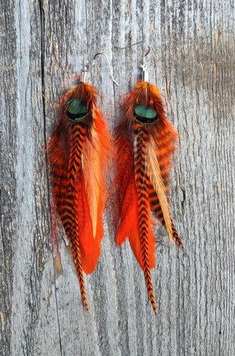 Fjäderörhängen Par #2011
