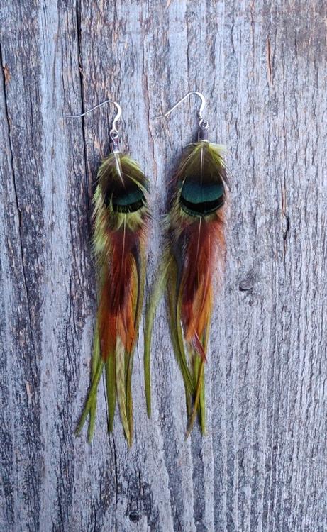 Feather Earrings #2015