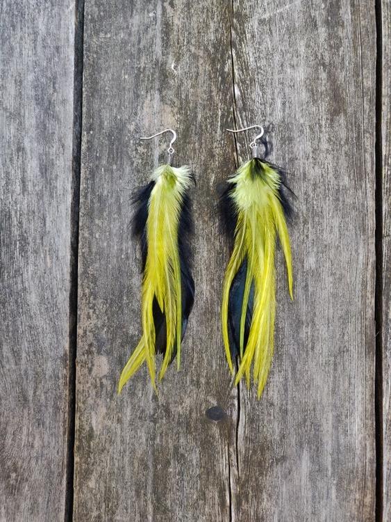 Fjäderörhängen Par #2115