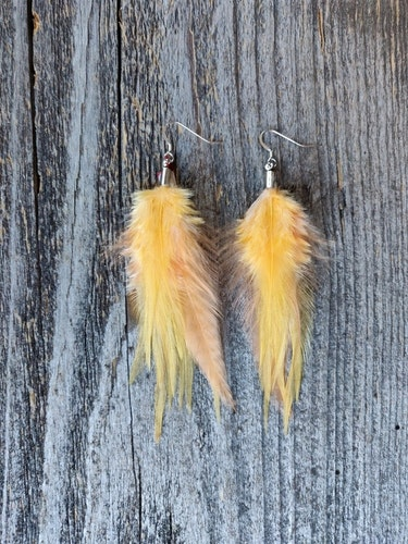 Fjäderörhängen Par #2031