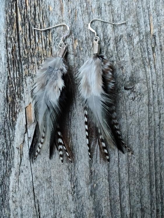 Fjäderörhängen Par #2025