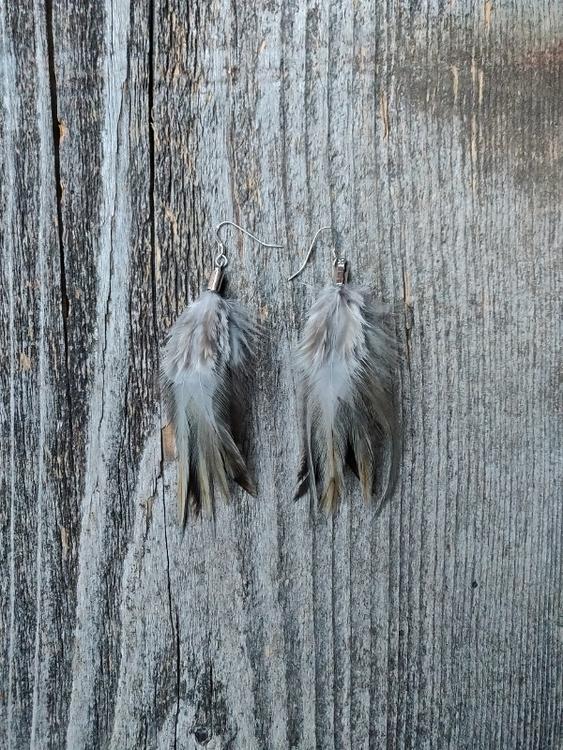 Fjäderörhängen Par #2026
