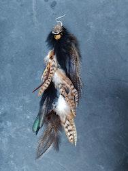 Kedjeörhänge med Fjädrar #2062