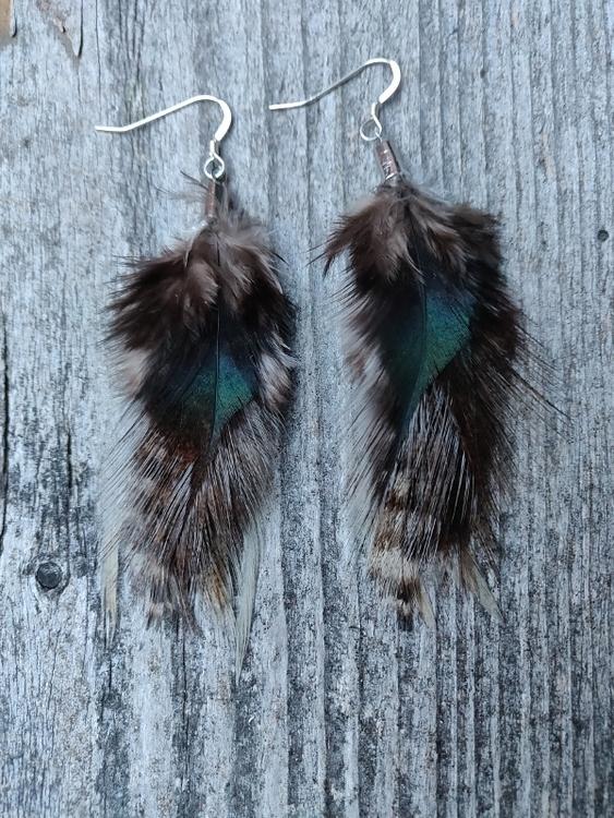 Fjäderörhängen Par #2032