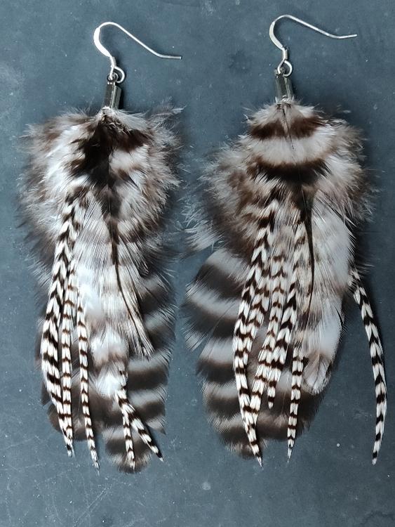 Fjäderörhängen Par #2034