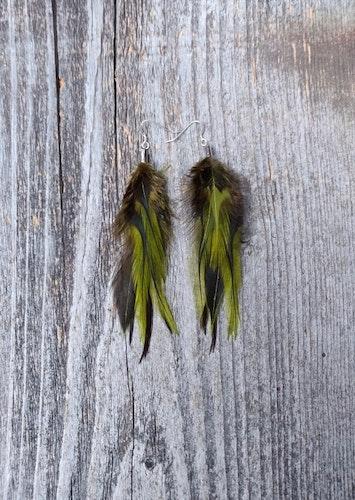 Fjäderörhängen Par #2035